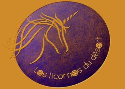 Logo les licornes du désert
