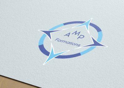 Logo société AMP