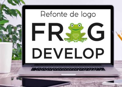 Logo frog develop