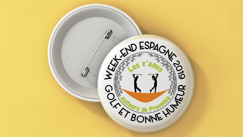 Badge association golf