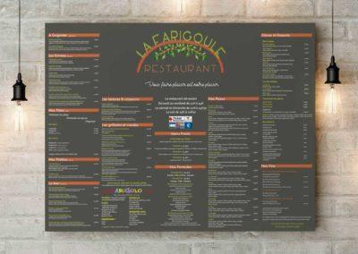 Client restaurant la Farigoule