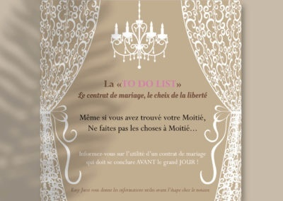 Flyer salon du mariage Easy Juris