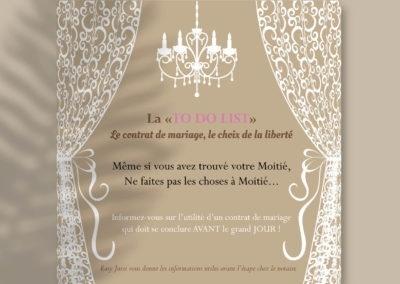 Flyer salon du mariage Easy Juris