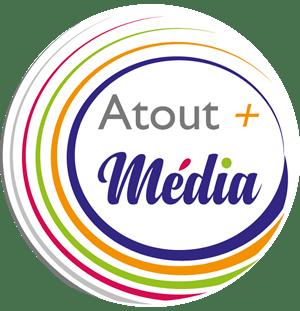 Logo Atout plus Média